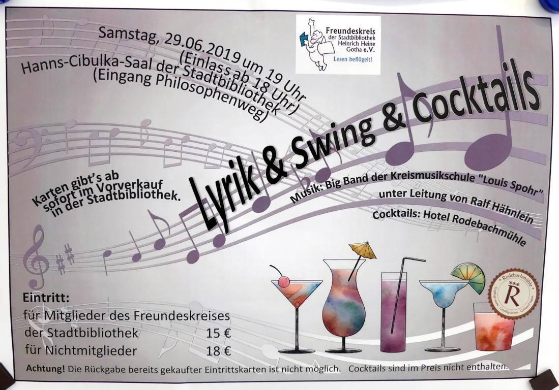 Lyrik  & Swing &  Cocktails