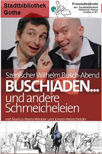 """Theaterstück """"Buschiaden … und andere Schmeicheleien"""""""