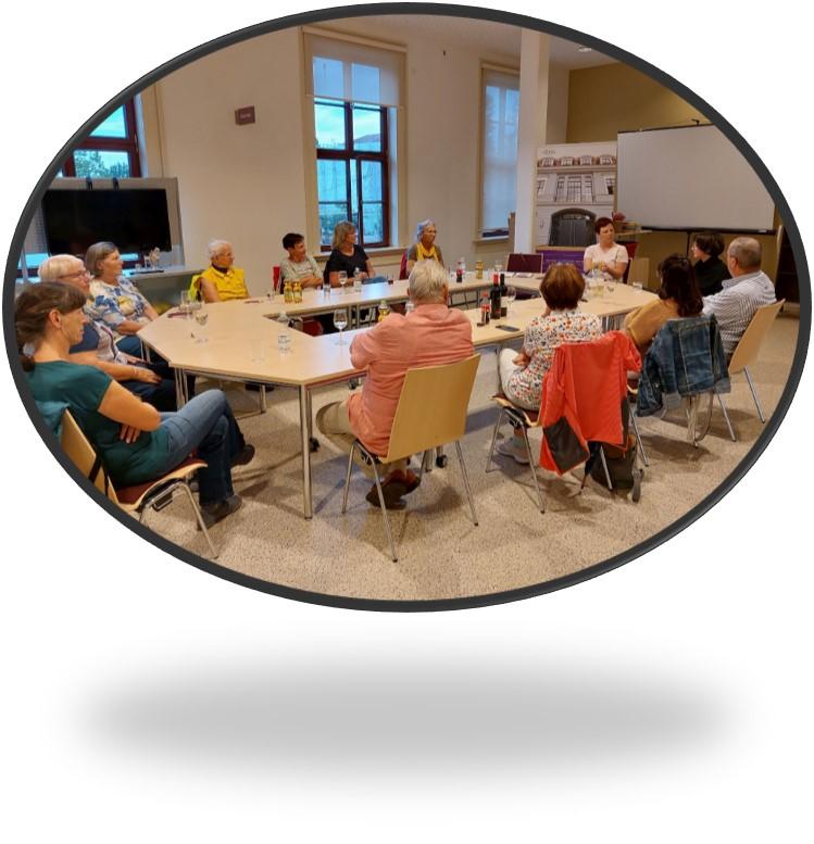 Mitglieder-Information zum Stammtisch vom 15. September 2021 Bild